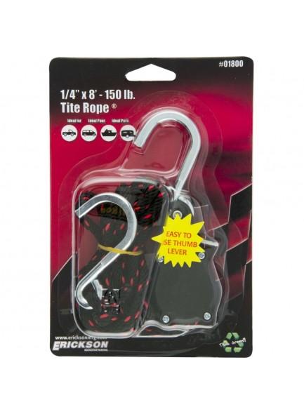 ERICKSON Câble de fixation à cliquet 8' - 150 lb