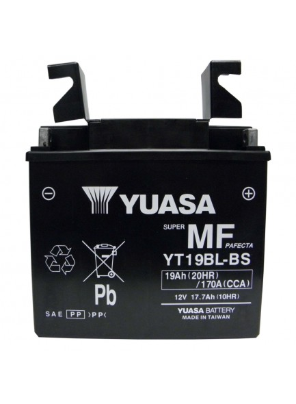 Yuasa Batteries AGM sans entretien YT19BL-BS