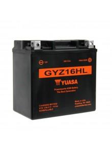 Yuasa Batterie Haute Performance AGM sans entretien GYZ16HL