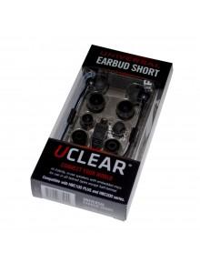 UCLEAR Écouteurs-boutons universels 3 cm