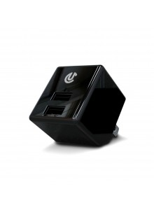 Uclear Chargeur/Adaptateur double AC/USB Appareils électroniques