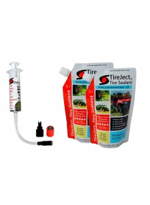 TireJect Ensemble de Scellant pour pneu 20 oz Liquide