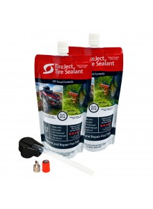 TireJect Ensemble de Scellant pour pneu 2 X 10 oz Liquide