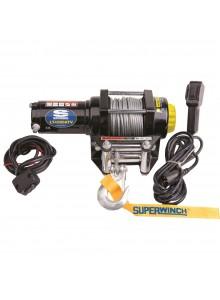 SUPERWINCH Treuil noir  LT4000ATV (câble métallique)