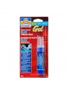 PERMATEX Bloqueur de filets bleu puissant amovible Gel