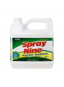 Spray Nine Nettoyant/dégraissant/désinfectant 4 L / 1.05 G