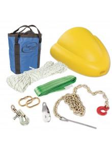Portable Winch Ensemble d'accessoires forestiers pour treuil