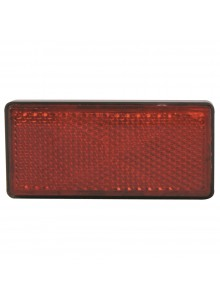 Kimpex Réflecteur rouge rectangulaire