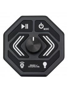 SSV WORKS Télécommande multimédia Bluetooth avec entrée AUX et chargeur USB