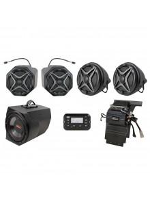 SSV WORKS Ensemble de 5 haut-parleurs Premium Marine Polaris