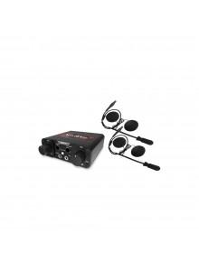 NavAltas Système de communication NNT10 avec 2 casques d'écoute