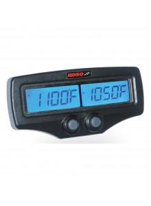Koso Indicateur EGT double de température d'échappement Universel - 205126
