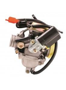 Outside Distributing Carburateur GY6 complet de 125-150 cc avec étrangleur électrique 4 temps - Style GY6