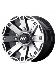 MSA WHEELS Roue M27 Rage 12x7 - 4/110 - +10 mm