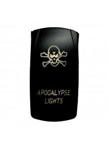 QUAKE LED Interrupteur Apocalypse DEL Bascule - QRS-AL-W