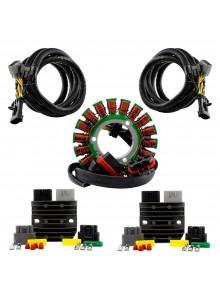 Kimpex HD Ensemble de stator à double sortie, régulateurs series et harnais Polaris - 225818