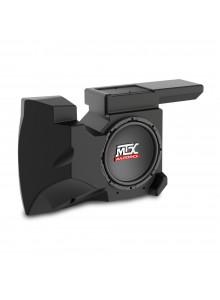 MTX AUDIO Caisson d'extrême grave amplifié - Polaris RZR Polaris - Sous la console