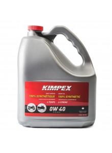Kimpex Huile à moteur Motoneige/VTT 4-S100 0W40 3.78 L / 0.79 G