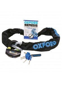 Oxford Products Chaîne antivol et cadenas ultra robustes Nemesis