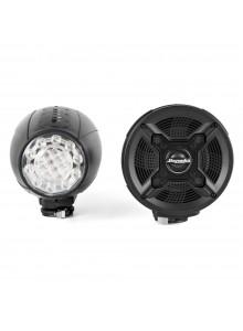 Bazooka Haut-parleurs Bluetooth avec lumière DEL Universel