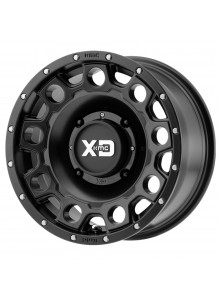 KMC XD WHEELS Roue XS129 Holeshot 15x7 - 4/137 - +10 mm