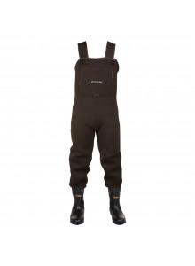 Compass360 Bottes-pantalon en caoutchouc jusqu'à la poitrine Rogue avec crampon