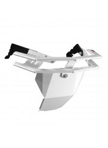 Straightline Pare-choc série Rugged & plaque de protection Avant - Aluminium - Polaris