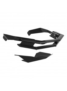 Straightline Pare-choc série Rugged & plaque de protection Avant - Aluminium - Ski-doo