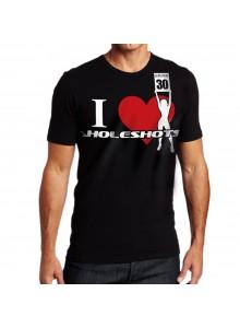 T-shirt Heart Holeshots