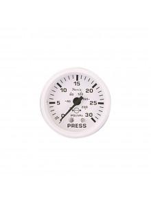 Faria Manomètre à pression d'eau série tout-blanc Bateau - 705859