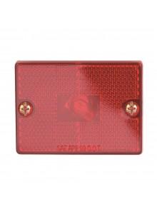 Optronics Feu de gabarit d'encombrement à réflecteur carré Rouge