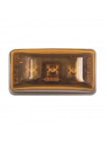 Optronics Mini feu de gabarit/encombrement DEL rectangulaire scellé Ambre