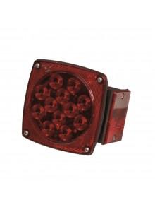 Optronics Feu arrière DEL universel pour application de moins de 80 po Rouge
