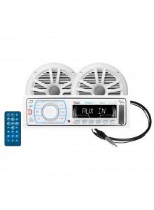 Boss Audio Ensemble de réception audio Marine - 2 - 180 W