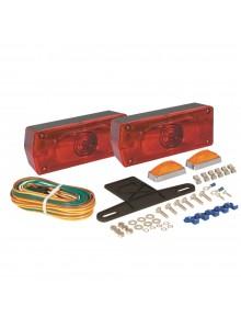Optronics Jeu de feu arrière Aero Pro pour remorque de plus de 80 po Rouge