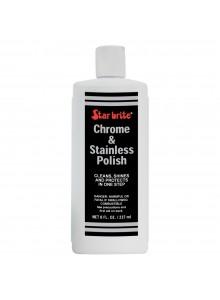 STAR BRITE Produit à polir pour chrome et acier inoxydable Bouteille