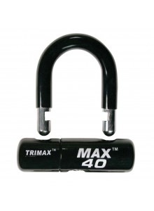 "Trimax Verrou en ""U"" noir"