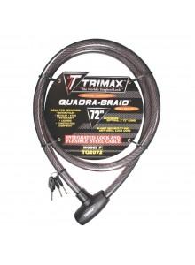 Trimax Câble de verouillage, 3 clés Câble de verouillage - 723667