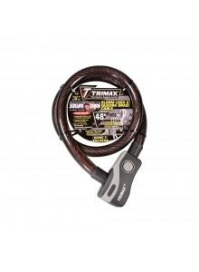 Trimax Câble de verouillage, Acier Câble de verouillage - 723670