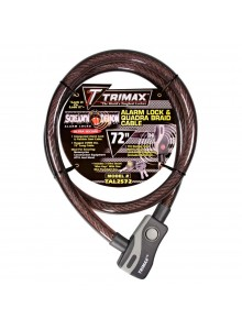Trimax Câble de verouillage, Acier Câble de verouillage - 723671