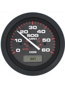 SIERRA Indicateur de vitesse GPS - 60 MPH 781-579-060P