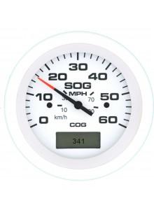 SIERRA Indicateur de vitesse GPS - 60 MPH Bateau - 781-683-060P