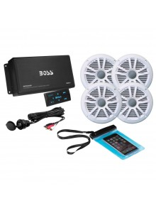 Boss Audio Ensemble audio Bluetooth AMP Marine - 4 - 500 W