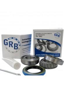 GRB BEARING Ensemble de roulement de roue de remorque, TK 1063
