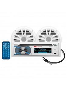 Boss Audio Ensemble récepteur audio avec haut-parleur - MCK508WB.6 Marine - 2 - 180 W