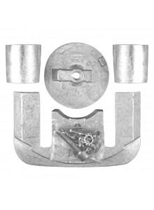 MARTYR Ensemble d'anode en magnésium Mercury