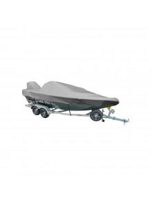 Kimpex Housse de bateau de pêche en aluminium et console