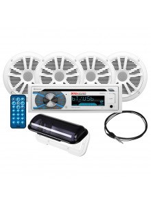 Boss Audio Ensemble récepteur audio avec haut-parleur - MCK508WB.64S Marine - 4 - 180 W