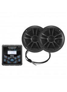 Boss Audio Récepteur audio et haut-parleur - MCKGB450B.6 Marine - 2 - 180 W