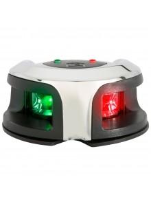 Attwood Feux de navigation LightArmor Feu avant bicolore - Noir, Blanc